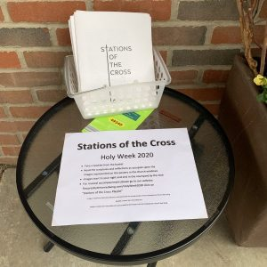 Instructions for Stations of the Cross